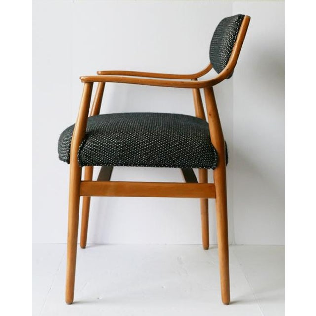Mid-Century Modern Unusual Scandinavian Chairs - Pair For Sale - Image 3 of 7