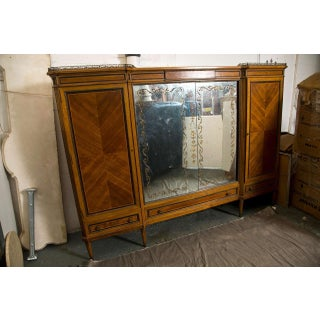 French Directoire Style Wardrobe Cabinet or Armoire by Jansen Preview
