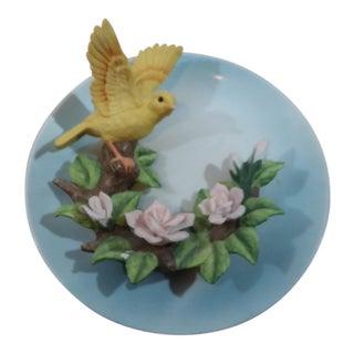 Seymour Mann Connoisseur Collection 3D Bird Plate, 1995