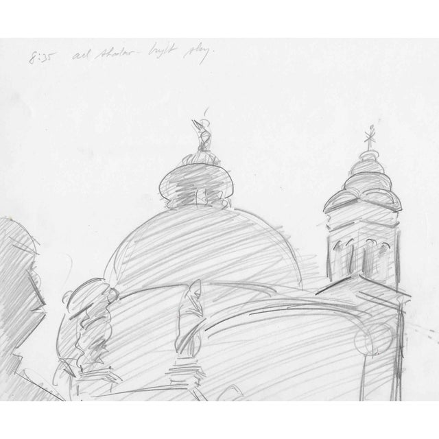 Charles Merril Mount View of Venice 1957 For Sale - Image 4 of 4