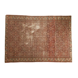 "Vintage Fragmented Hamadan Carpet - 6'3"" X 8'9"" For Sale"