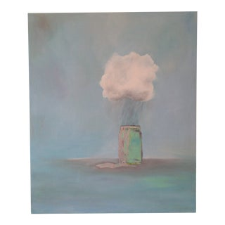 """""""Rain Catcher"""" Oil Painting by Natalie Mitchell For Sale"""