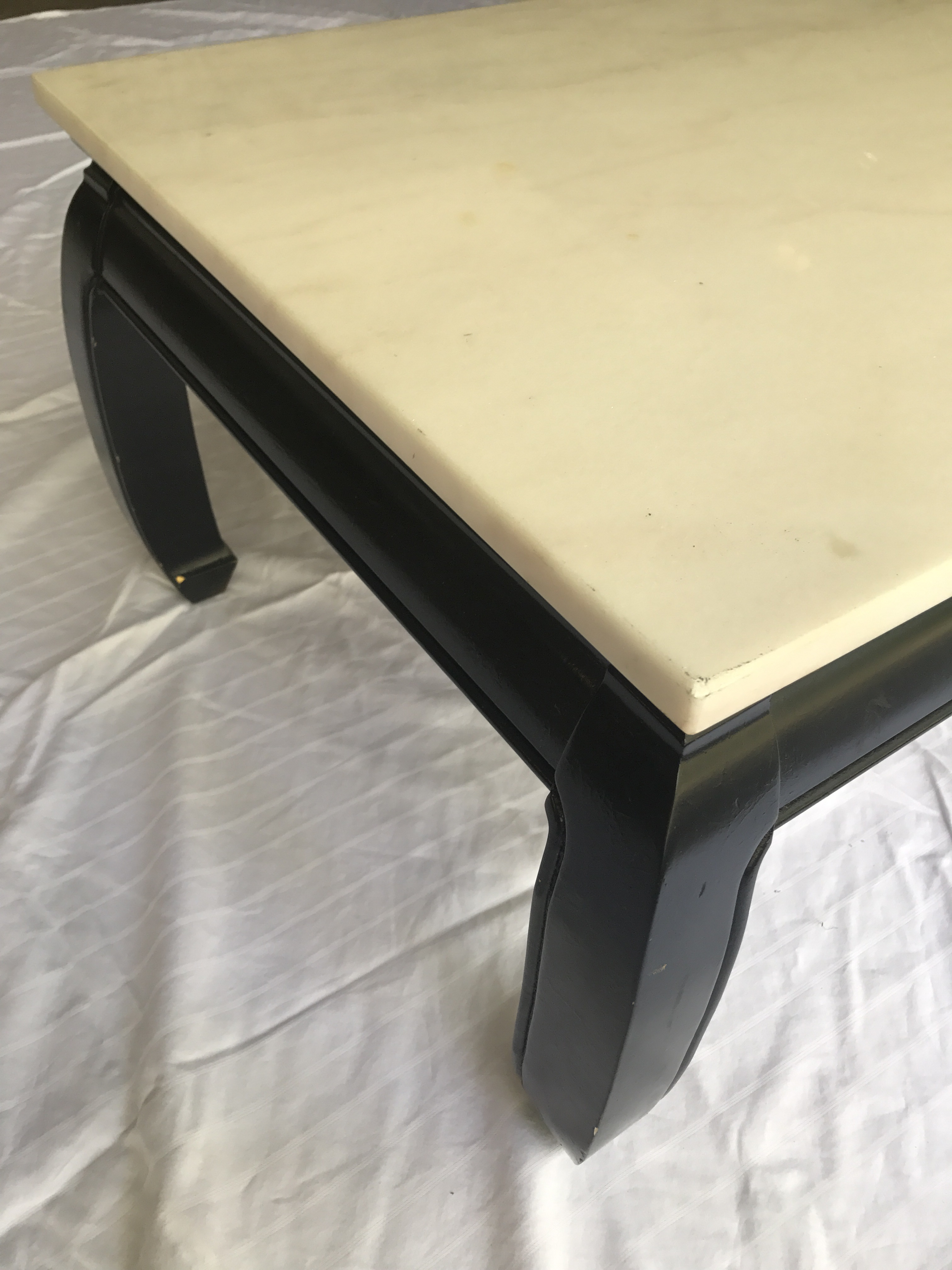 Asian marble top table
