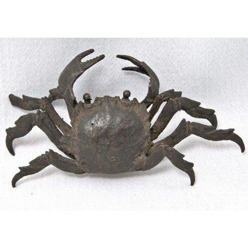 School of Genoa 16th Century Renaissance Bronze Crab