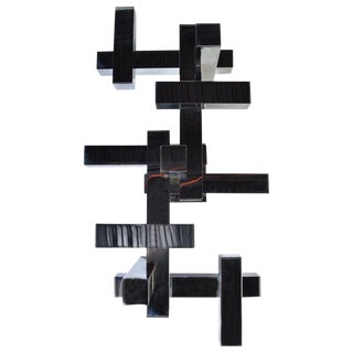 Gaetano Sciolari Geometric Flush Mount Light For Sale