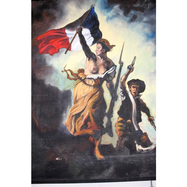 French Revolution Painting - Image 2 of 4