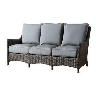 Modern Sea Woven Sofa For Sale