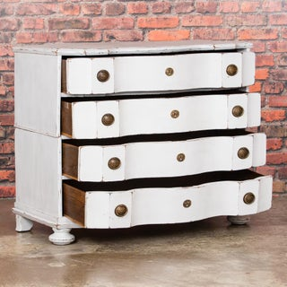 18th Century Baroque White Painted Chest of Drawers Preview