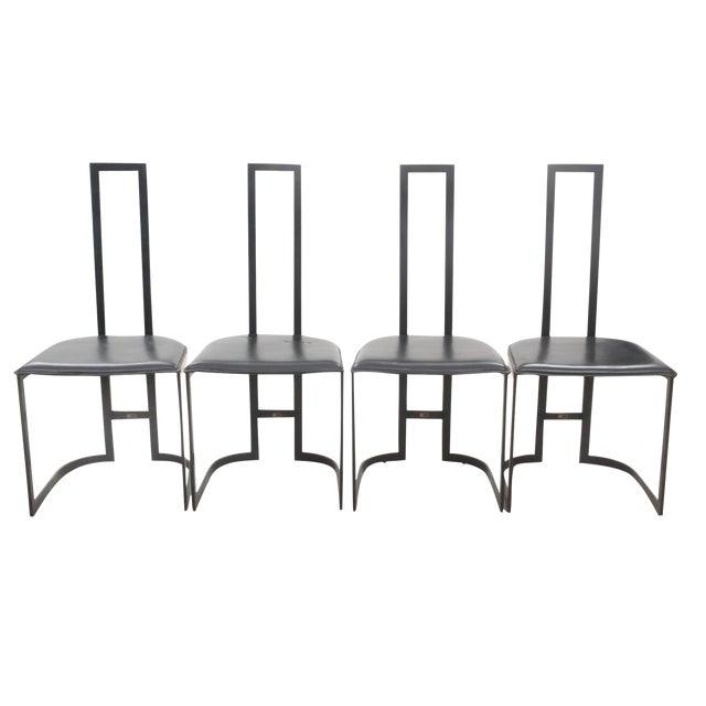 Italian Art Deco Chairs - Set of 4 - Image 1 of 7