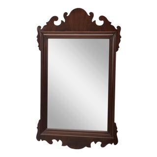 Councill Craftsmen Chippendale Mahogany Mirror For Sale