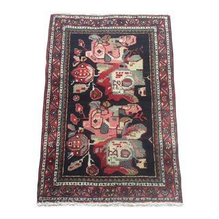 Vintage Persian Accent Rug - 2′2″ × 3′1″ For Sale