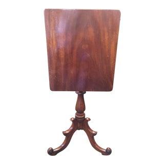 Antique Tilt Top Table For Sale