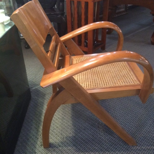 Mid- Century Danish The Chair has been lovingly . A truly timeless beauty. This model is the cane wrapped seat. Oh and the...