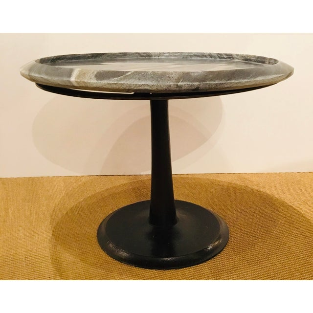 Arteriors Modern Medium Marble Webber Accent Table Chairish