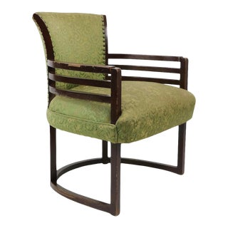 Art Deco Arm Chair Attributed to Gilbert Rohde For Sale