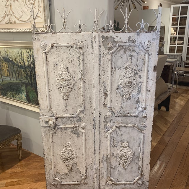 1880s Vintage French Decorative Garden Gate For Sale - Image 9 of 12