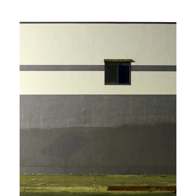 """John Vias """"Gray Wall"""" Contemporary Photograph For Sale"""