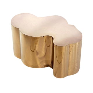Kate Modern Gold Coffee Cocktail Table
