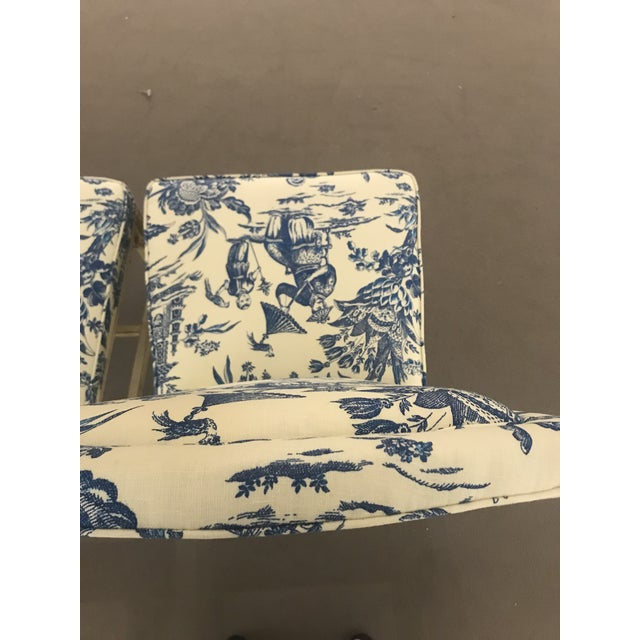 1990s Vintage Century Chinoiserie Chippendale Dining Chairs- Set of 8 For Sale - Image 9 of 11