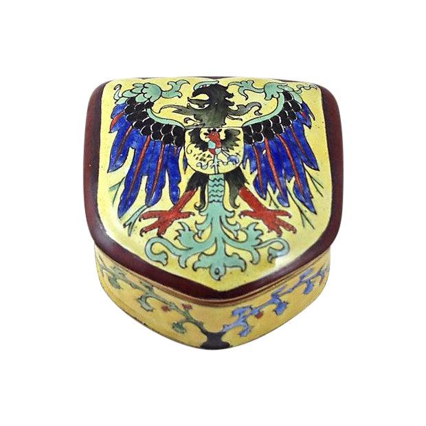 Coat of Arms Enamel Box - Image 1 of 6