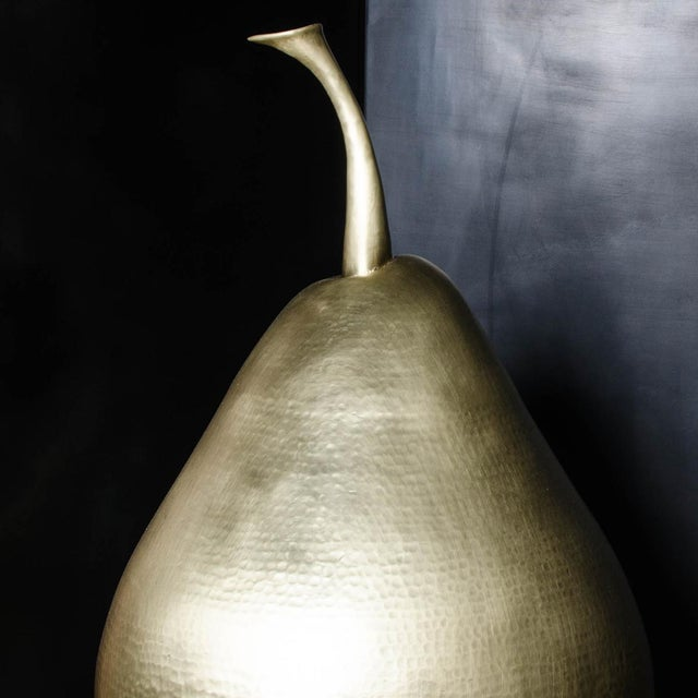 Contemporary Pear - Brass For Sale - Image 3 of 3
