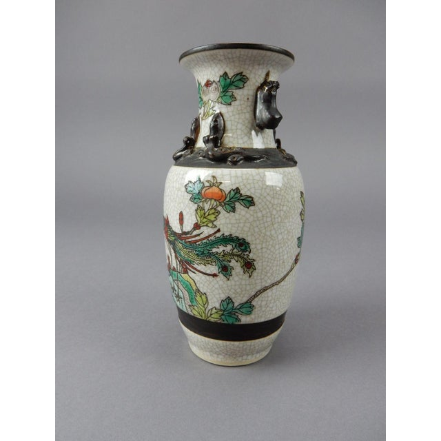 Antique Chinese Celadon Vase For Sale - Image 4 of 11