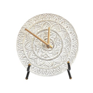 Taj Medallion Table Clock