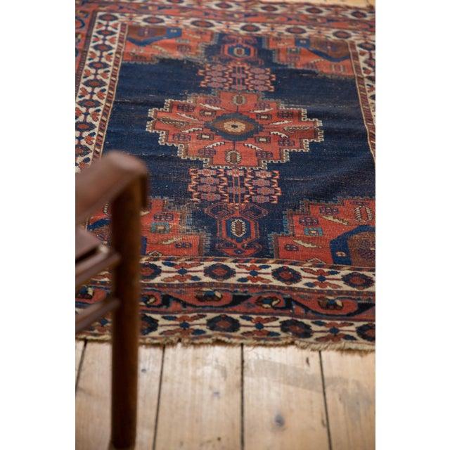 """Antique Fine Afshar Rug - 4'3"""" x 5'2"""" For Sale - Image 12 of 13"""