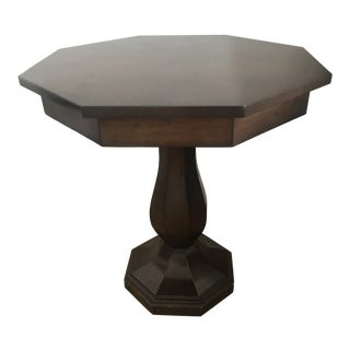 Art Deco Octagonal Side Table For Sale