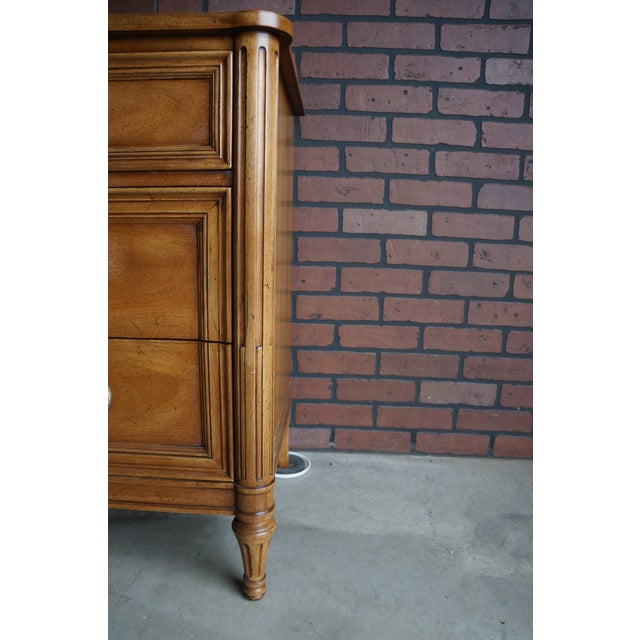 20th Century French Provincial Henredon Dresser For Sale - Image 10 of 12