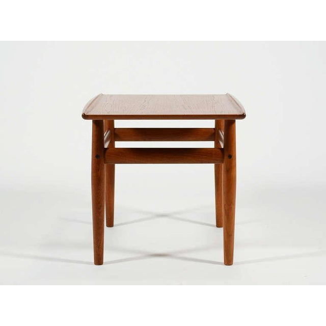 Teak Side/ End Table by Greta Jalk For Sale In Chicago - Image 6 of 8