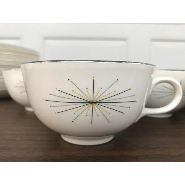 Mid-Century Modern Homer Laughlin Modern Star Dishes For Sale - Image 3 of 8