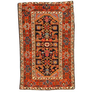 Late 19th Century Antique Persian Karajeh Rug - 2′6″ × 4′ For Sale