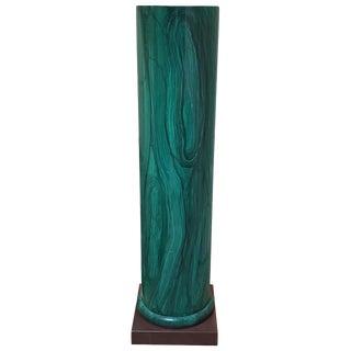 Palladio Faux Malachite Column For Sale