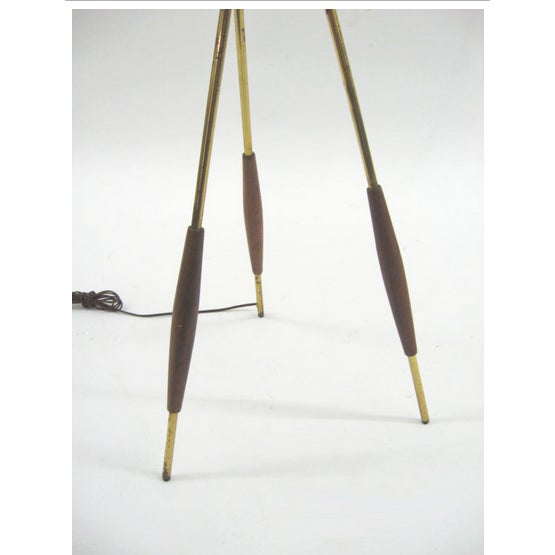 Gerald Thurston Lightolier Tripod Floor Lamp - Image 2 of 3