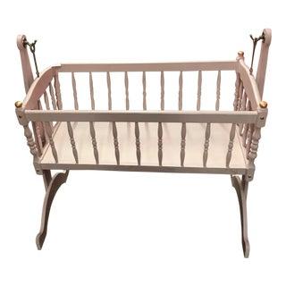 Baby Pink & Gold Cradle