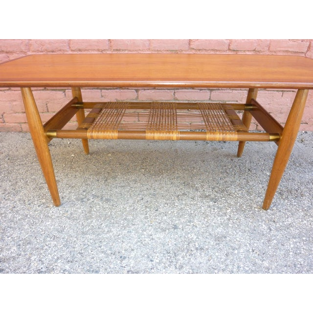 Danish Modern Hans Wegner Attributed Coffee Table For Sale - Image 3 of 4