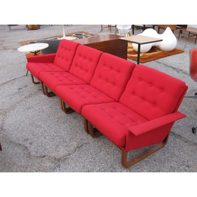 Admirable Danish Kai Kristiansen For Magnus Olesen Rosewood Sofa Spiritservingveterans Wood Chair Design Ideas Spiritservingveteransorg