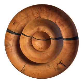 Artist Made Wooden Bowl