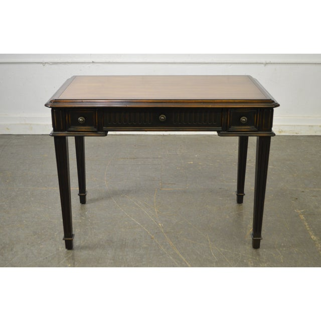 Hooker Furniture French Louis XVI Style Writing Desk For Sale - Image 9 of 10