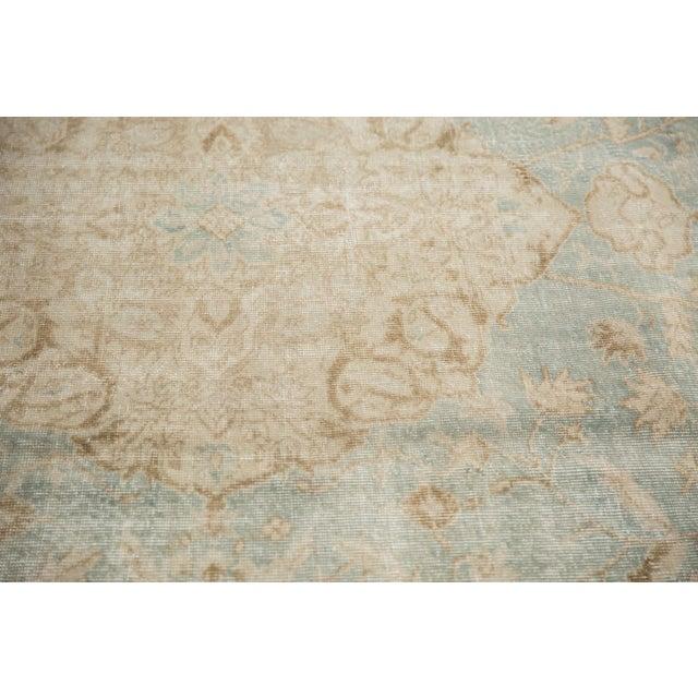 "1950s Vintage Distressed Sivas Carpet - 8'7"" X 11'1"" For Sale - Image 5 of 12"