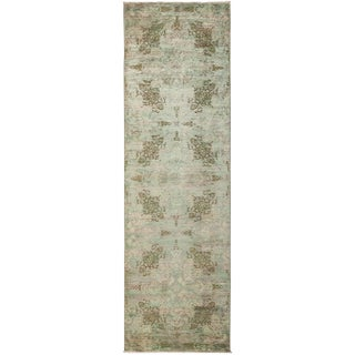 """Vibrance Hand Knotted Runner - 2'10"""" X 9'10"""" For Sale"""