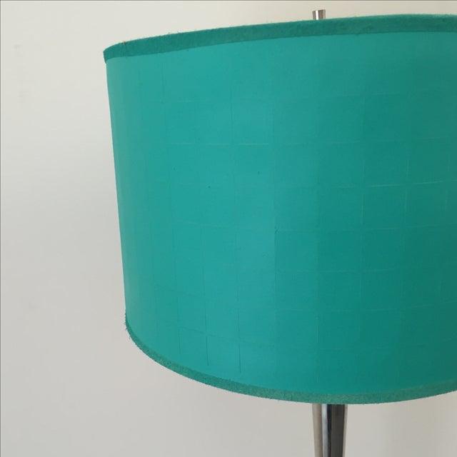 Mid-Century Chrome Floor Lamp - Image 3 of 5