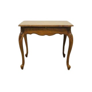 20th Century French Drexel Heritage Cherbourg End Table For Sale