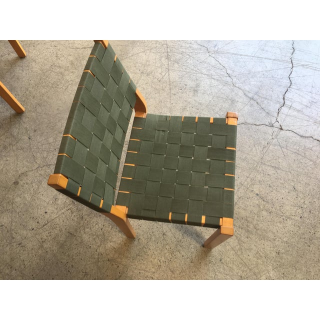 Green Alvar Aalto Dining Chairs - Set of 8 For Sale - Image 8 of 12