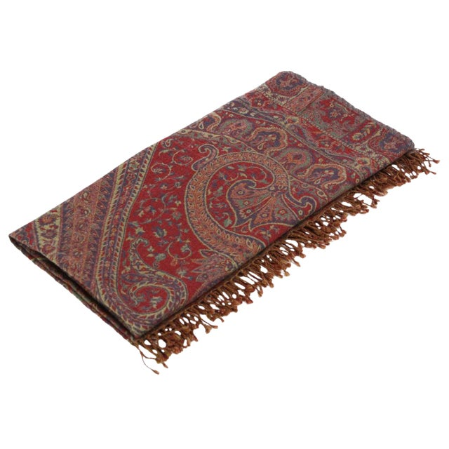 Rangoli Patterned Jammu Throw For Sale