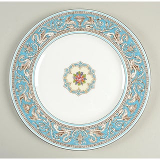 Wedgwood Florentine Turquoise Dinner Plate - Set of 8 Preview