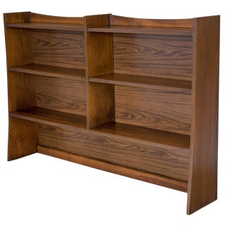 Mid-Century Sculptural Bookcase For Sale