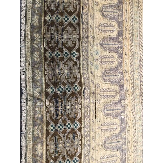 "Vintage Bellwether Rugs Turkish Oushak Rug - 5'6""x9'11"" - Image 4 of 9"