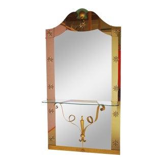 Pier Luigi Colli Console Mirror For Sale